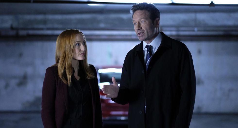 """""""The X Files"""". Mulder y Scully regresaron este 2018 para ofrecer 10 nuevos episodios, posiblemente los últimos de toda la saga. (Foto: Fox)"""