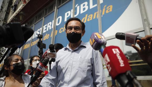 Martín Vizcarra sigue en campaña con Somos Perú. (Joel Alonzo/ @photo.gec)