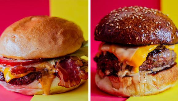 El pack de la caja con 4 hamburguesas para hacer en casa es de S/ 120. Incluye una bolsa de regalos de las marcas aliadas de Burger Fest. También se pueden agregar packs de bebidas.