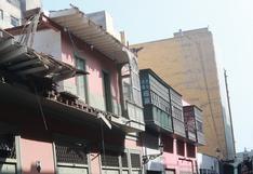 Unos 70 balcones del Centro Histórico de Lima están en riesgo