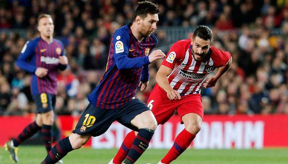 Barcelona juega contra Atlético Madrid en Yeda por la semifinal de la Supercopa de España. El partido se juega desde las 14:00 horas y con la transmisión de DirecTV Sports. (AFP)