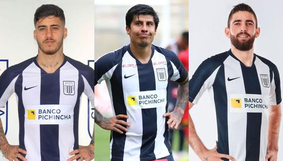 Por un tema de presupuesto, Beto da Silva, Patricio Rubio y Rubert Quijada no seguirán este año en Alianza Lima. (Fotos: @ClubALoficial/Liga 1)