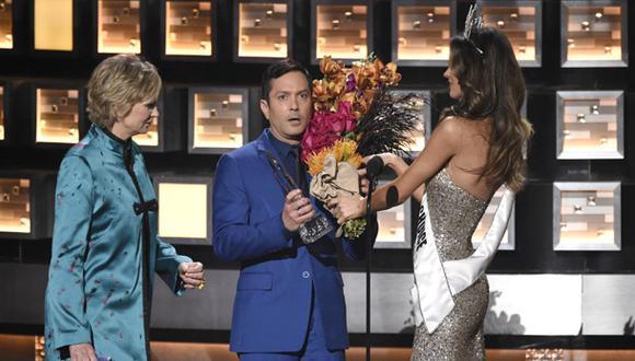 People's Choice Awards parodió error del Miss Universo [VIDEO]
