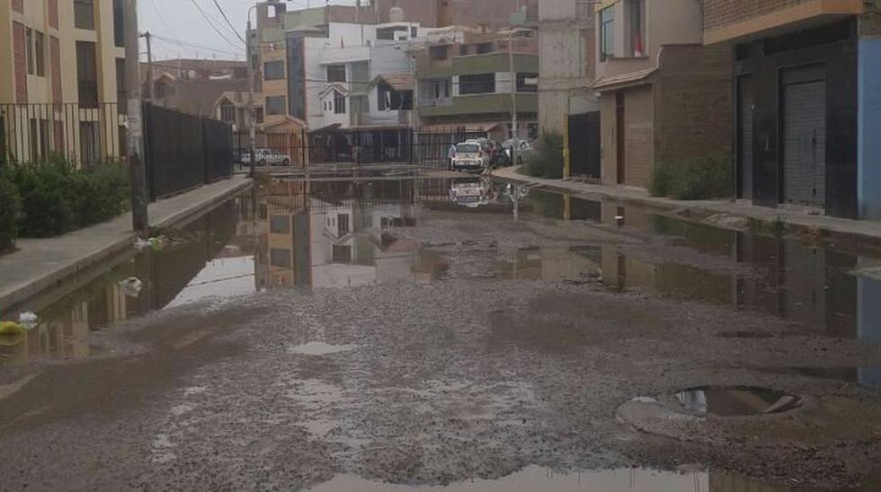 Chiclayo: así lucen las calles afectadas por aguas contaminadas - 3