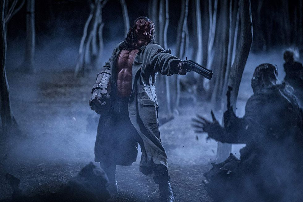 Hellboy no ha recibido una buena crítica (Foto: Lions Gate Entertainment)
