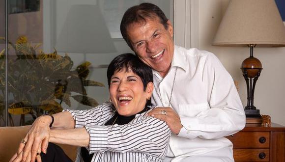 Cecilia y Miguel Barraza juntos en escena. (Foto: Difusión)