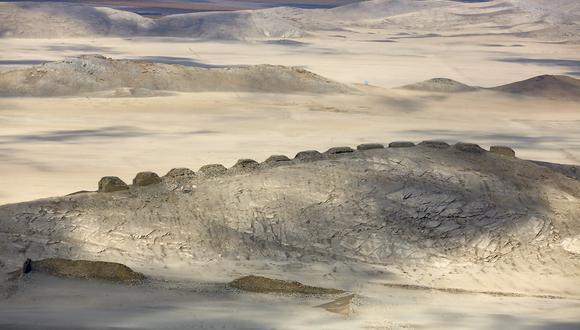 Las 13 torres del observatorio de Chanquillo son mucho más antiguas que el imperio inca. (Foto: Janine Costa / AFP)