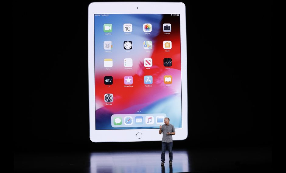 iPad 2019 de Apple. (Reuters)