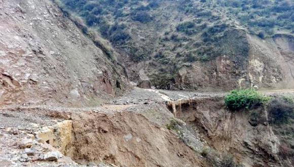 El Centro de Operaciones y Emergencia (COER) de Áncash reportó el viernes  la ocurrencia de un huaico en el sector Huanchuy, en la provincia de Yungay (Foto: COER-Áncash)
