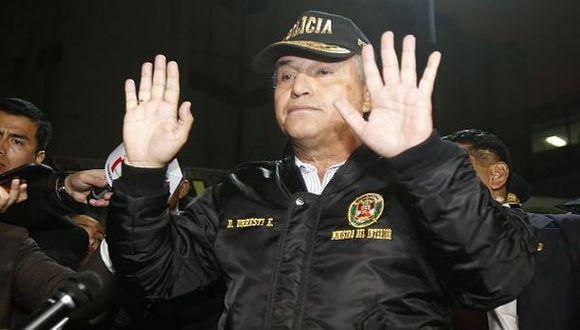 Ministro Urresti llegó a Colombia para traer a Rodolfo Orellana