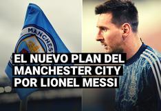 El nuevo plan del Manchester City para contratar a Lionel Messi por diez años