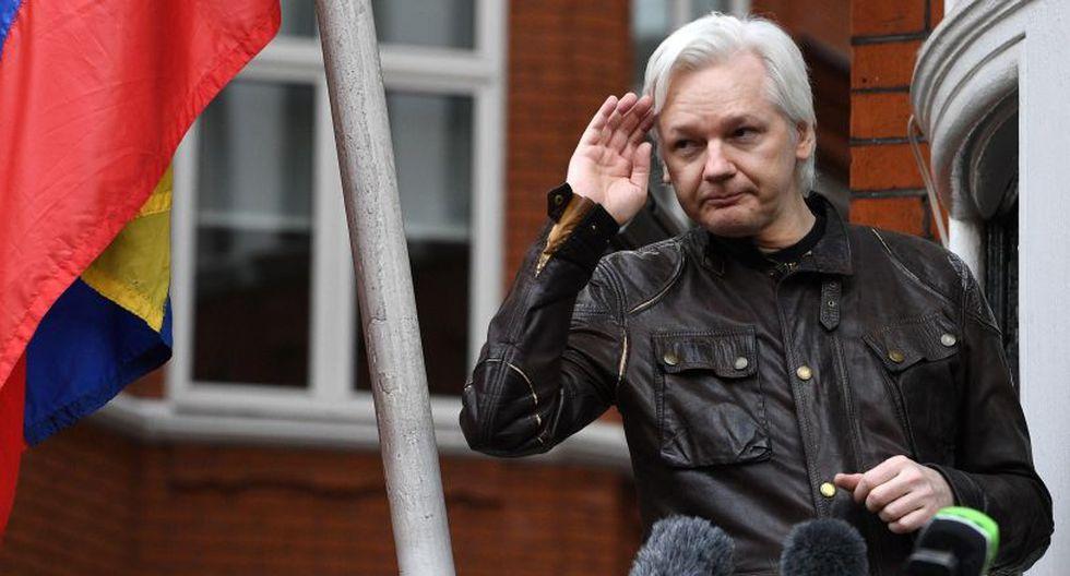 Julian Assange teme que, si sale de la embajada, las autoridades del Reino Unido lo extraditen a Estados Unidos. (Foto: EFE)