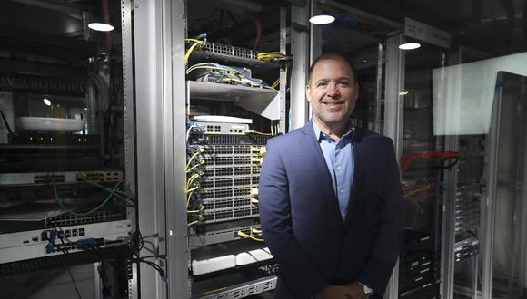Alvaro Rodriguez Larrain gerente regional de Cisco, destaca que tenemos un nivel de digitalización menor al recomendado,  (FOTO: ROLLY REYNA / EL COMERCIO PERU