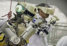 """El moderno robot """"astronauta"""" que Rusia desarrollará para hacer """"trabajo pesado"""" en el espacio"""