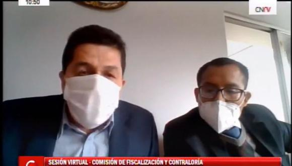 La semana pasada, Fredy Herrera Begazo, cuñado del presidente Martín Vizcarra, se presentó ante la Comisión de Fiscalización con su abogado. Ahí defendió sus contratos con el Estado. (Foto: Congreso TV)