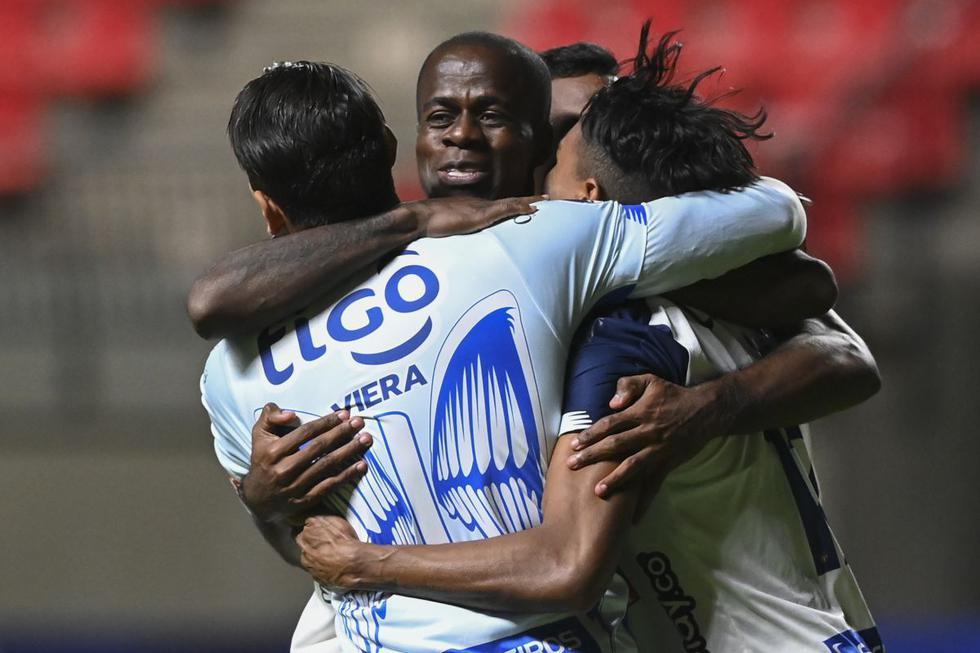 Unión La Calera vs. Junior: las mejores imágenes del partido por la Copa Sudamericana. (Foto: AFP)