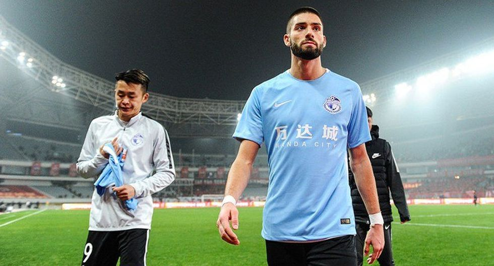 8. Yannick Carrasco cobra 10 millones por temporada y juega en el Dalian Yifang. (Foto: AFP)
