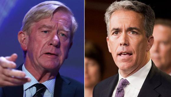 Bill Weld (izq.) y Joe Walsh se enfrentarán a Trump de cara a las elecciones de 2020. (Foto: GETTY IMAGES, vía BBC Mundo).