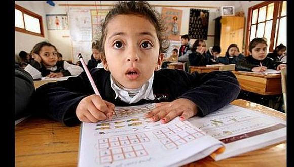 Los escolares ahora tendrán una escala de calificación entre C y AD. (Archivo El Comercio)