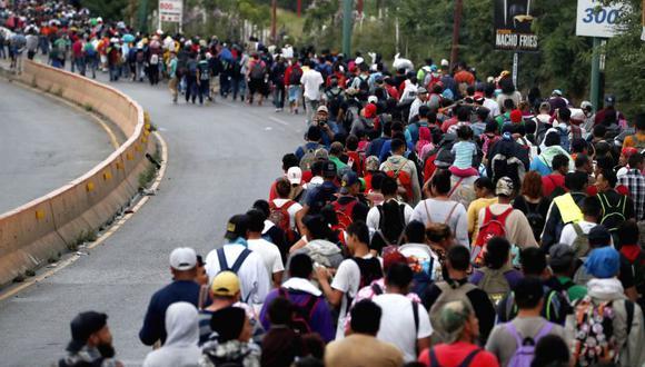 Con Cruz suman cinco los migrantes hondureños muertos desde que salió la primera caravana, tres de ellos en octubre.   Foto: EFE / Referencial