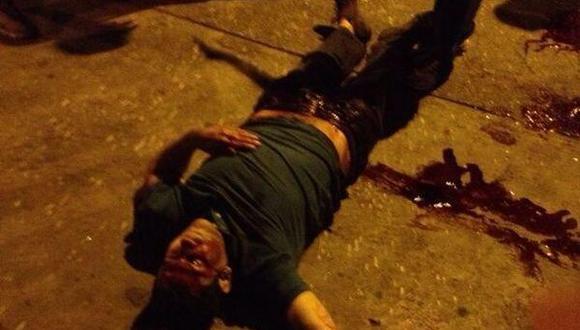 Venezuela: Así mató la policía a un civil en protesta