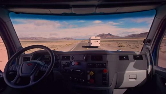 El camión que logró esta hazaña es de la marca estadounidense Peterbilt y es para la que inicialmente se han diseñado estos sistemas. (Youtube)
