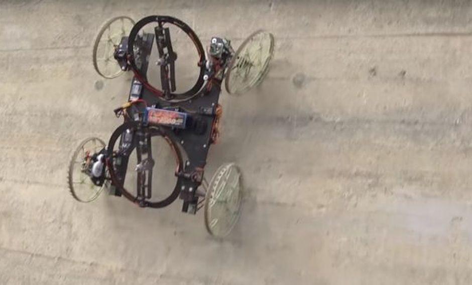 VertiGo, el robot de Disney que desafía la gravedad [VIDEO]