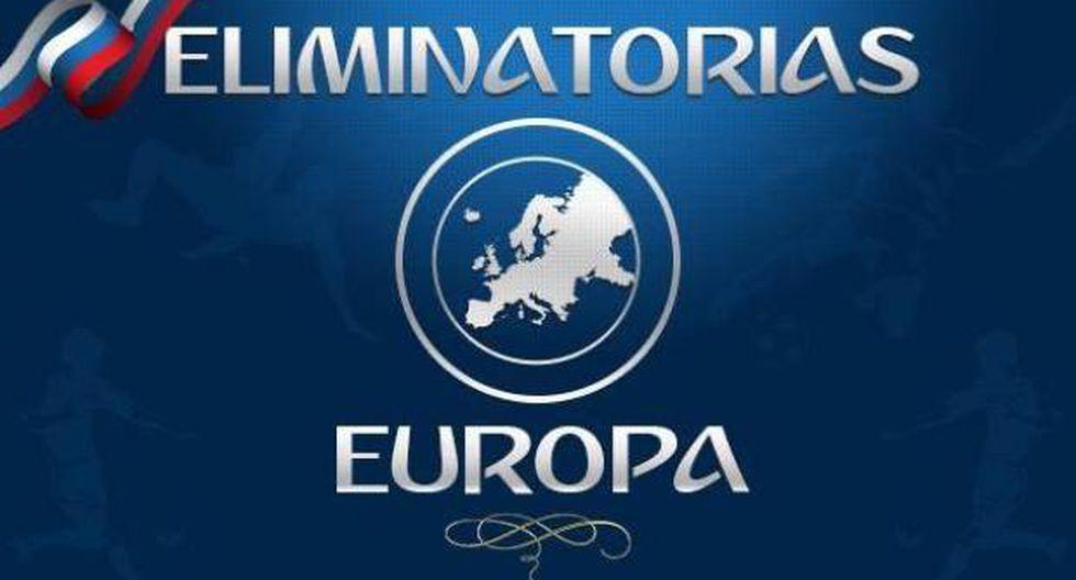 Eliminatorias Europeas: sigue el resultados de todos los partidos de la jornada seis. (Foto: UEFA)