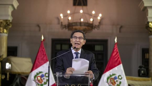 El presidente Martín Vizcarra anunciará los siguientes el nombre del año 2020 (Foto: Presidencia)
