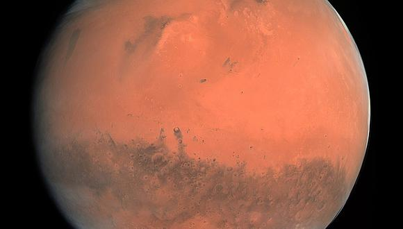 En Marte, el agua desapareció sin que se sepa por qué ni cómo. (Foto: NASA)