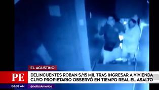 El Agustino: delincuentes secuestran a familia para robar 15 mil soles
