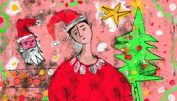 """""""El empresario apuesta por la campaña navideña como un repunte para iniciar el 2021 con una mejor situación económica"""", precisó Sergio Rivera, responsable de márketing de Caja Trujillo. (Ilustración: Giovanni Tazza/GEC)"""