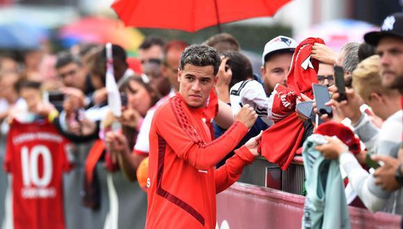 Coutinho llegó cedido por un año al Bayern Múnich   Foto: Agencias