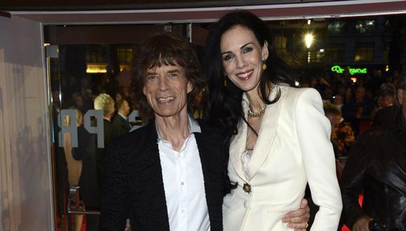 Novia de Mick Jagger tenía millonaria deuda