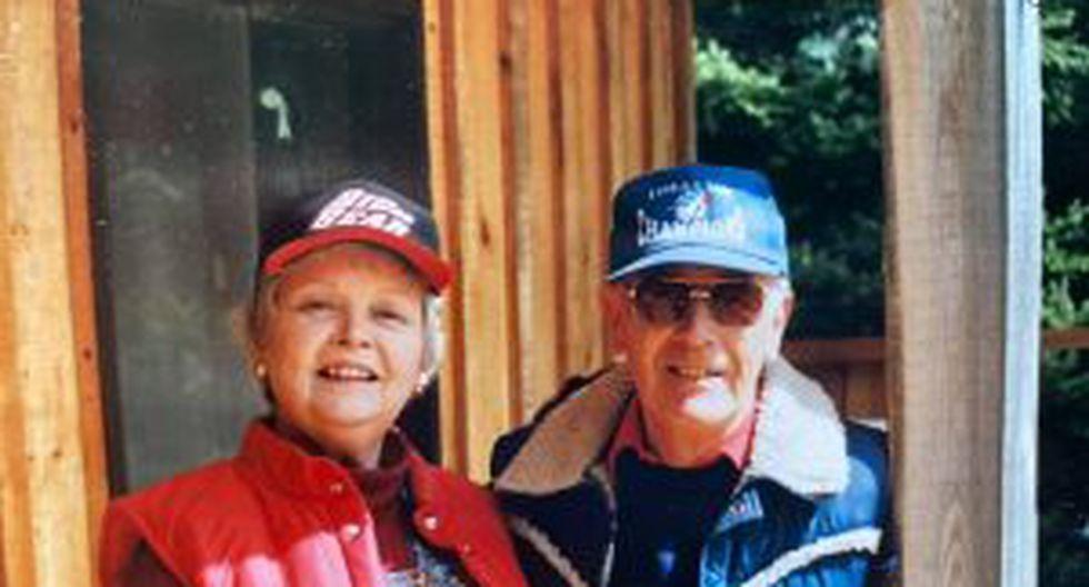 Ted Pollock vivía en el asilo Pinecrest en Bobcaygeon, Ontario. Con 91 años, su única compañía era su esposa, Jean. (Foto: Facebook)