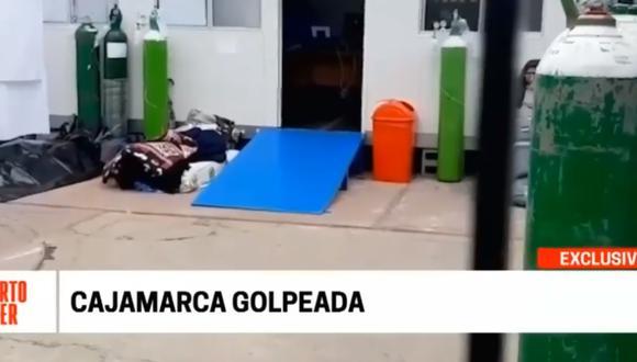 Cajamarca: pacientes cruzan al Ecuador por atención médica tras crisis sanitaria por COVID-19 | Captura / Cuarto Poder