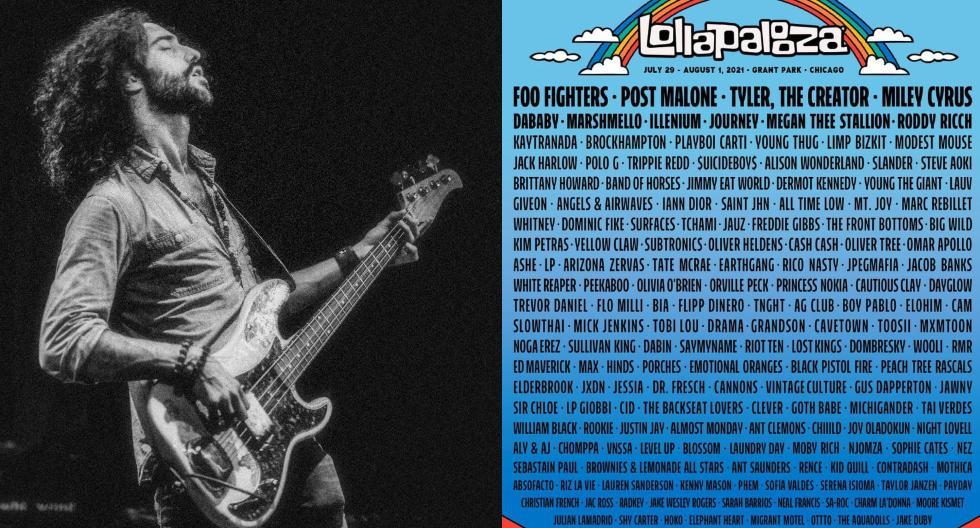 El peruano David Stewart Jr. es líder de Migrant Motel -banda que conforma con el mexicano Chava Ilizaliturri- el dúo de rock alternativo bilingüe que se presentará en el Lollapalooza Chicago 2021.