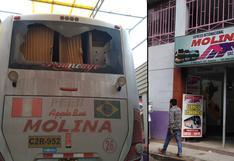 Huancavelica: asaltan a balazos a más de 50 pasajeros de bus interprovincial