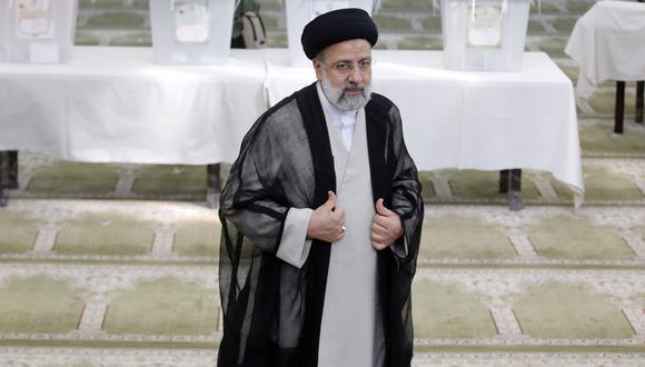 El presidente electo de Irán, Ebrahim Raisi. EFE