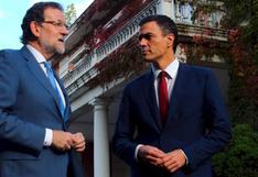 Cataluña: ¿De qué conversaron Rajoy y el líder de la oposición?