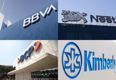 TOP 10: Estas son las empresas con mejor reputación corporativa en el Perú | FOTOS
