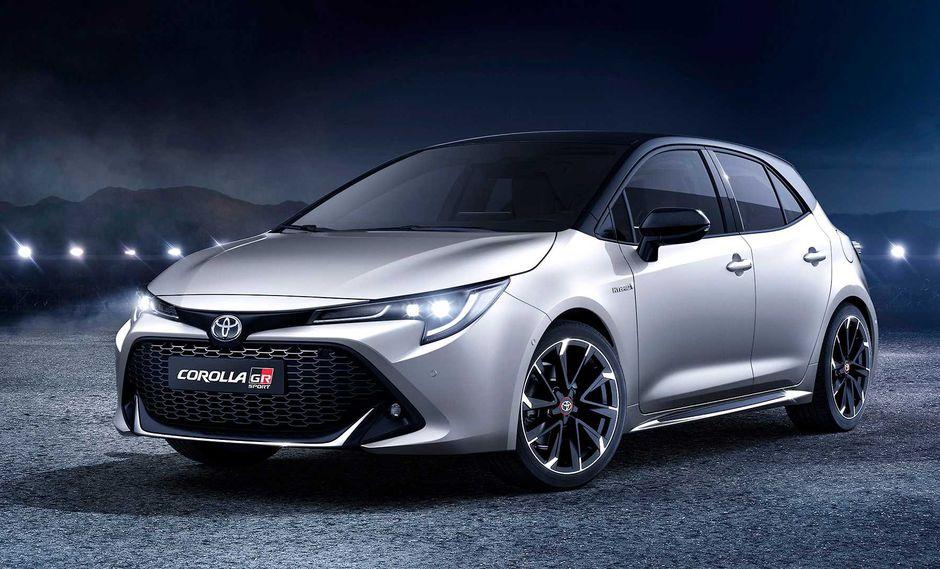 Toyota ha anunciado que las primeras unidades del Corolla GR Sport 2019 llegarán en enero del 2020. (Fotos: Toyota).