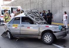 Conductor murió atropellado en la Vía Expresa tras bajar de su vehículo para arreglar desperfecto mecánico