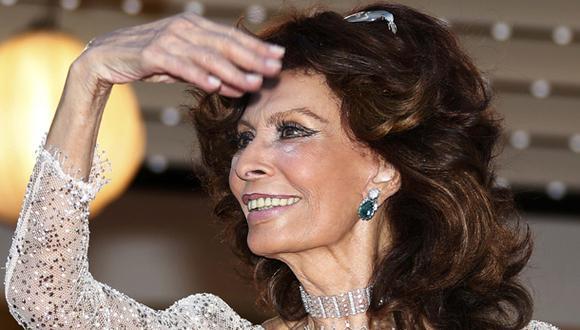 Sophia Loren regresa con un corto dirigido por su hijo