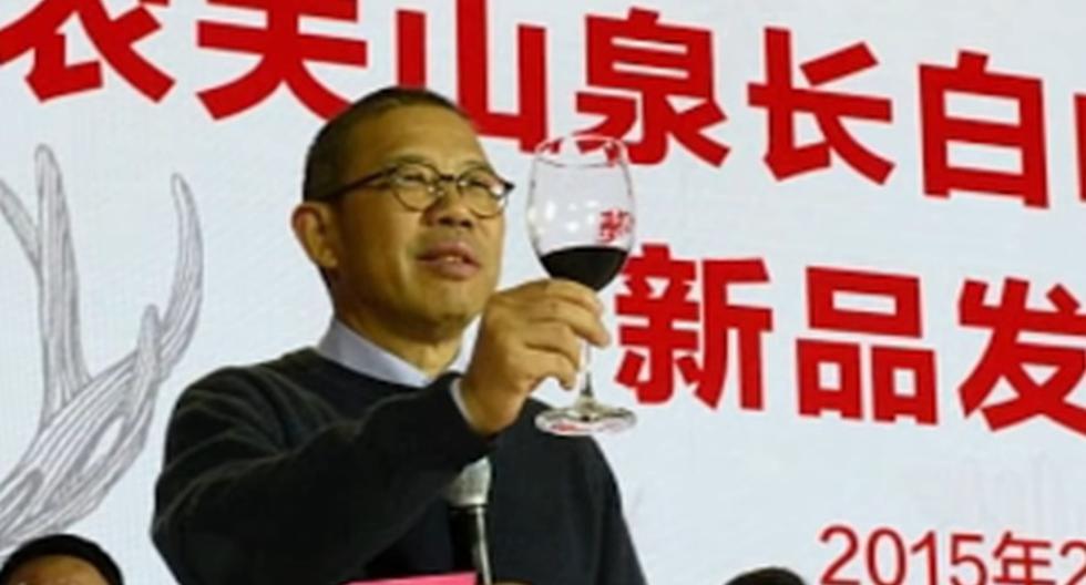 Zhong Shanshan es ahora el hombre más rico del gigante asiático con una fortuna valorada en 58.700 millones de dólares. (Captura de video).