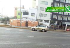 Así infringen las normas malos conductores de la Av. Brasil