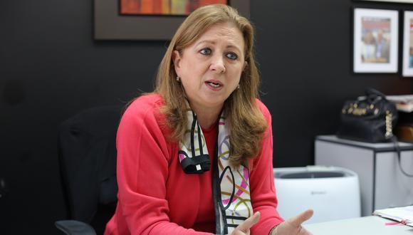 María Isabel León, presidenta de Confiep. (Foto. Marco Ramón | GEC)
