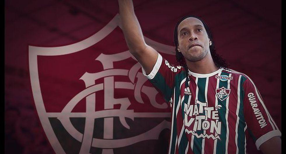 Ronaldinho debuta en Fluminense vs. Gremio en el Maracaná