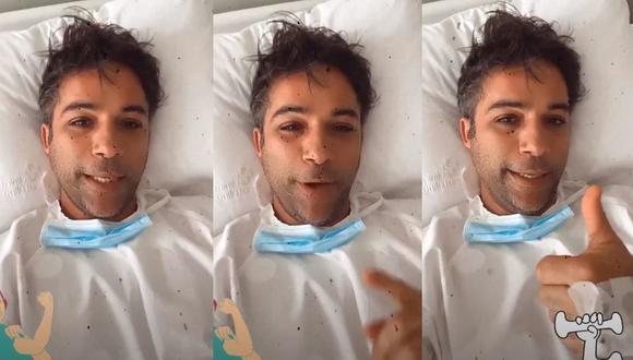 """Renzo Schuller tras ser operado de una hernia: """"Todo salió muy bien"""". (Foto: Captura de video)"""