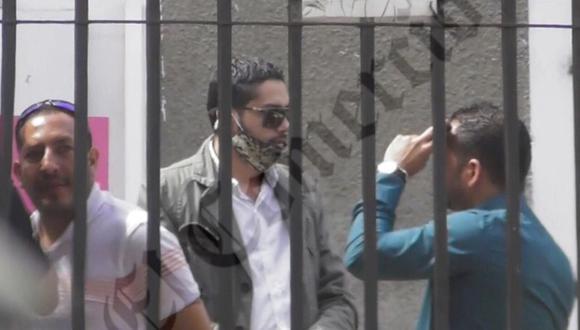 Seguimiento realizado por la policía a Yamy Castillo, permitió descubrir las reuniones de coordinación entre César Rojas y el productor de cine Alexander Garzón. (Foto: PNP)